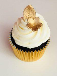 Gold top Cupcake