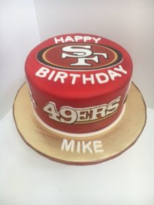 SF 49ers Cakes