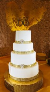 Wedding Cake 4T Gold